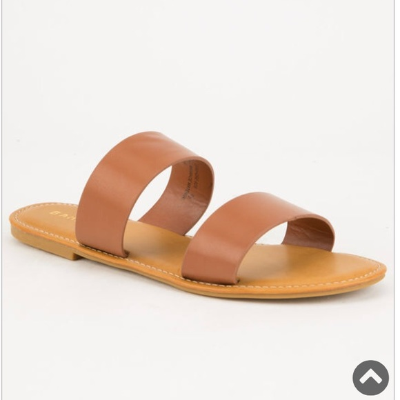 BAMBOO Shoes   Bamboo 2 Strap Slide